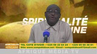SPIRITUALITE AFRICANE DU 22 AVRIL 2018