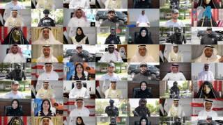 الإمارات.. شعب بأكمله ينشد الحب لبلاده