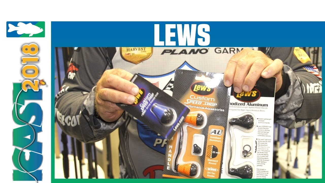 Icast 2018 Videos Lews Custom Speed Shop Products With John Murray