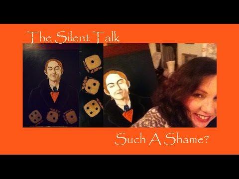MARK HOLLIS Portrait The Silent Talk Such A Shame Talk Talk Oil Painting