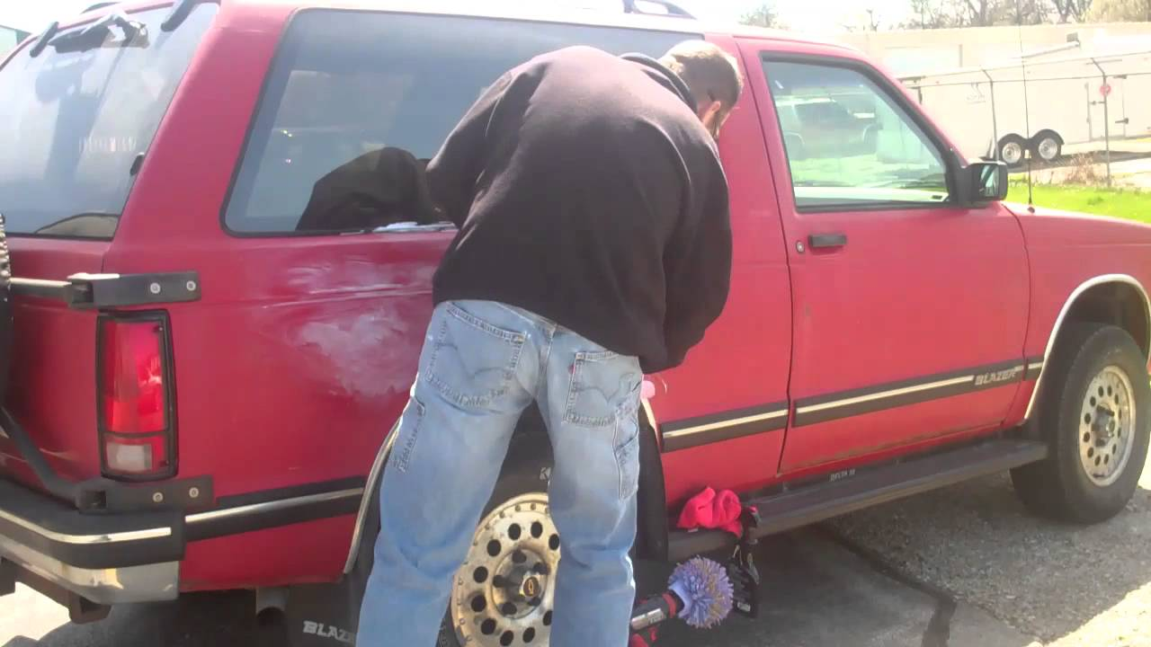 How to clean restore oxidized paint on a vehicle mp4 youtube How to keep your car exterior clean