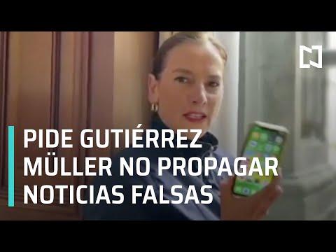 Beatriz Gutiérrez Müller Pide No Propagar Noticias Falsas Sobre Coronavirus - Las Noticias