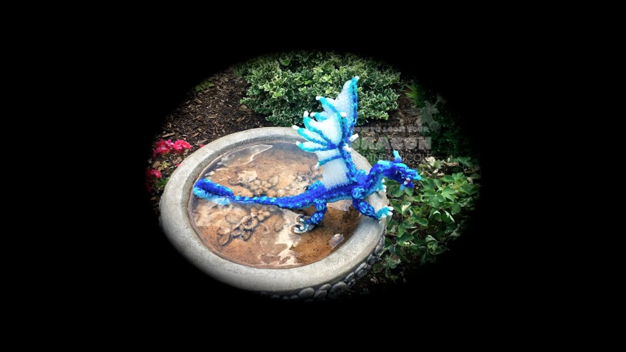 Part 3 4 Rainbow Loom Tsunami Seawing From Wings Of Fire