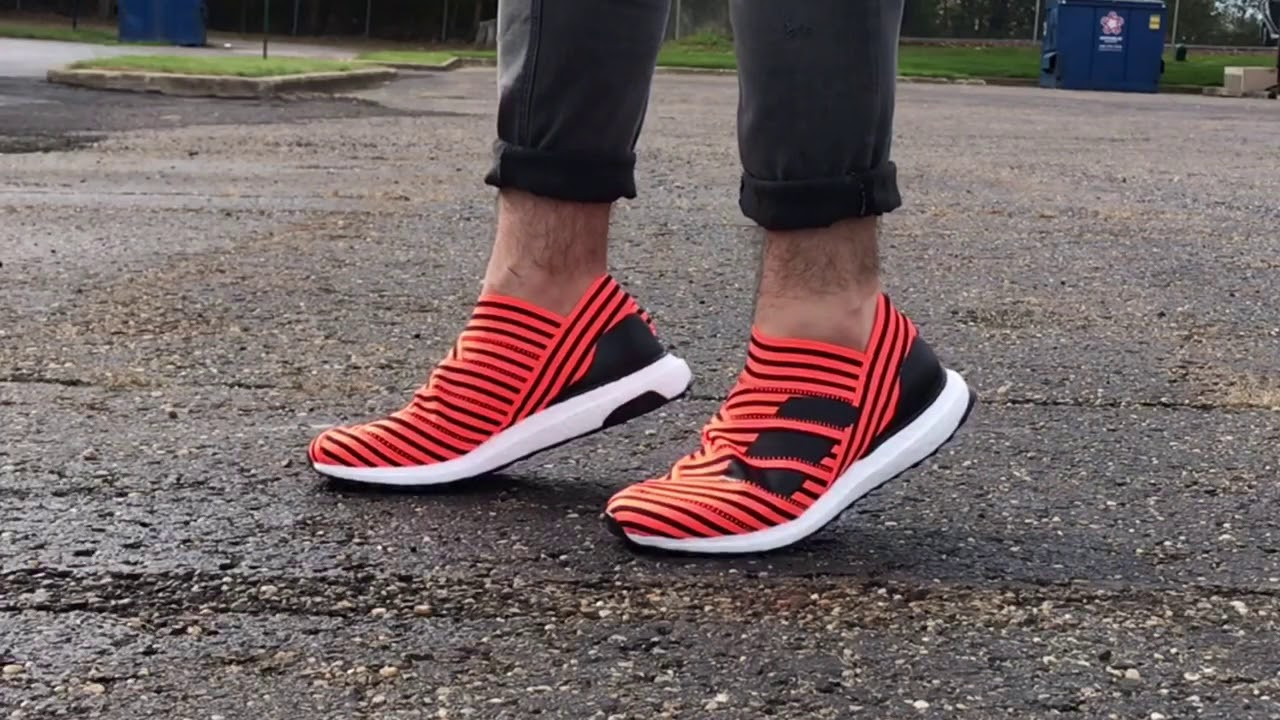 Adidas Originals Nemeziz Tango 17+ 360 Agility Ultra Boost 'solar Orange'