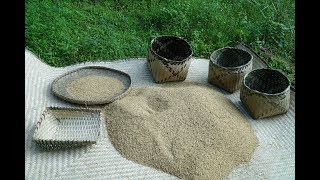 Primitive Skills: How to store rice?