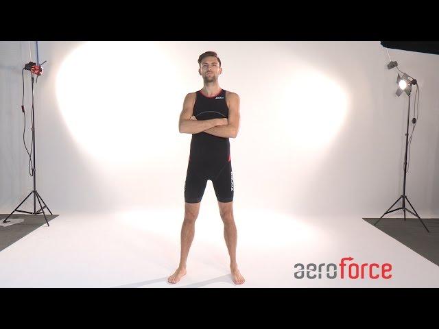 Zone3 Men's Aeroforce Sub220 Trisuit