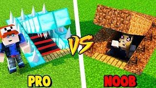 MINECRAFT - TAJNA BAZA PRO VS TAJNA BAZA NOOB   Vito vs Bella