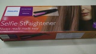 Philips Selfie Straightener | Philips HP8302/00 Hair Straightener Review by Happy Pumpkins