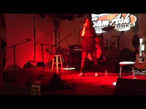 Jay Lavender  3000 Live @ Sam Ash Open Mic Night