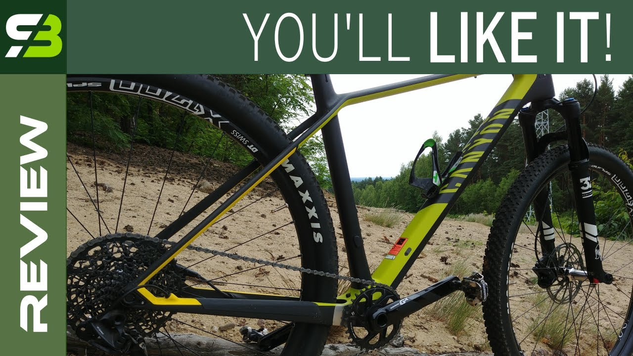 Good Value For The Money - Canyon Exceed CF SL 6 9  Pro Race Hardtail