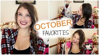 October Favorites 2015! | Kelly Marie