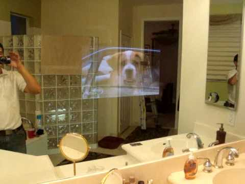 TV INSIDE MIRROR INSTALLATION IN SOUTH FLORIDA (MIAMI - BROWARD - PALM BEACH)