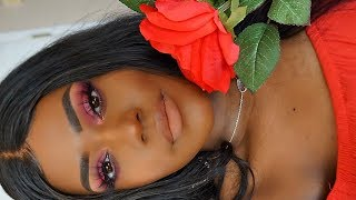 Valentines Day 1 Hour Makeup Transformation! | Huda Beauty Ruby