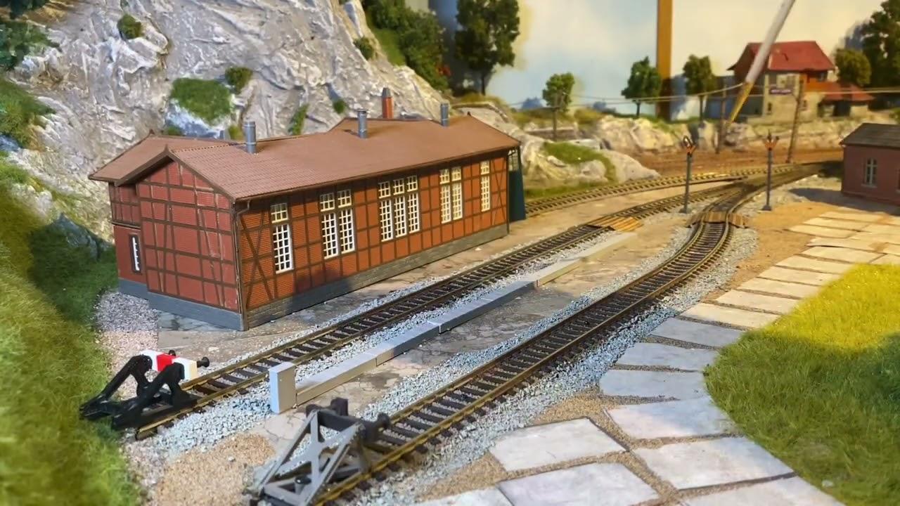 Modelleisenbahn H0 (Ein Betriebswerk entsteht Teil 3)