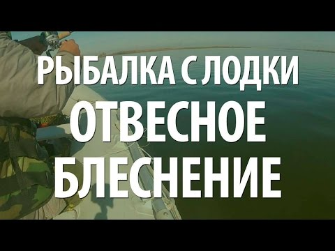 РЫБАЛКА С ЛОДКИ - ОТВЕСНОЕ БЛЕСНЕНИЕ