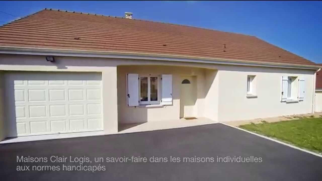 Construction D Une Maison Accessible Aux Personnes A Mobilite Reduite Youtube