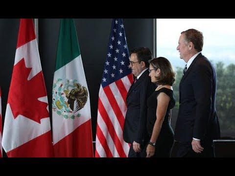 Nafta Canada and Mexico no closer to trade deal with USA
