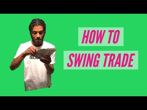 HOW TO TAKE A POSITION ON A SWING TRADE!!!