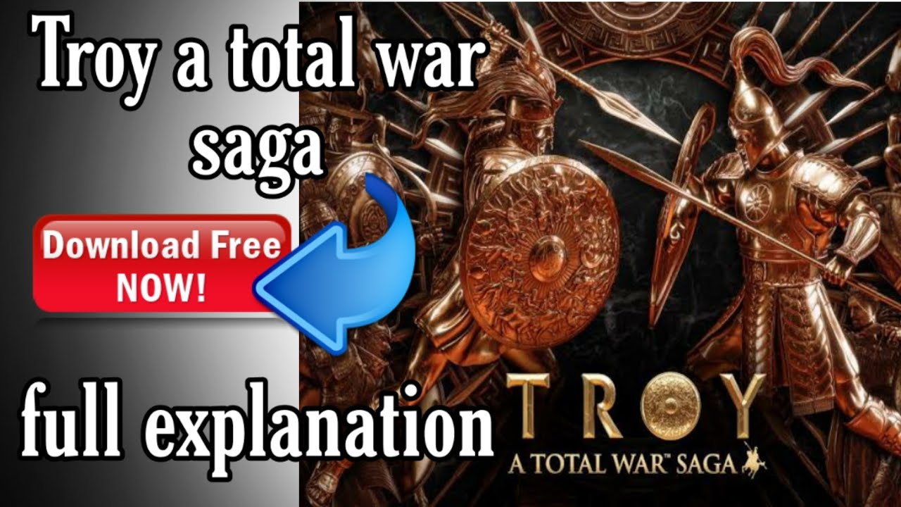 Download How to Download TROY - A TOTAL WAR SAGA For Free