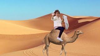 História Infantil - Clara Enfrenta Inúmeras Surpresas no Deserto
