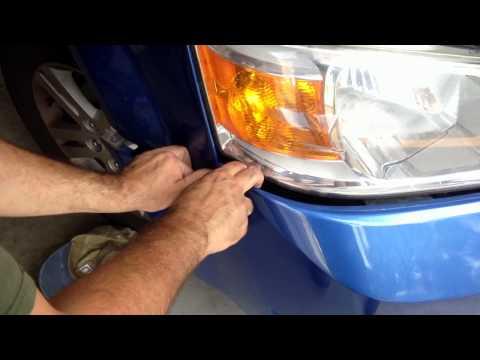2008 Dodge Grand Caravan front clip removal
