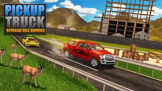 Pickup Truck OffRoad Hill Driving