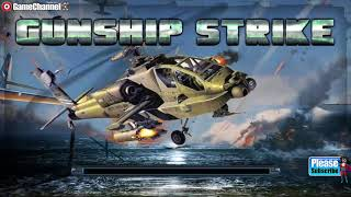 Gunship Strike 3D / Helicopter Action Game / Simulation Game / Android Gameplay Video
