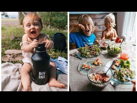 VEGAN FAMILY IN HAWAII🌈 // BIKES AND NOM🍜