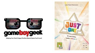 Just One Review with the Game Boy Geek