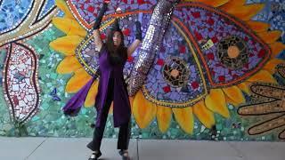 Whirlwind Leviwand Flow Art - Sizzlebird Music Video