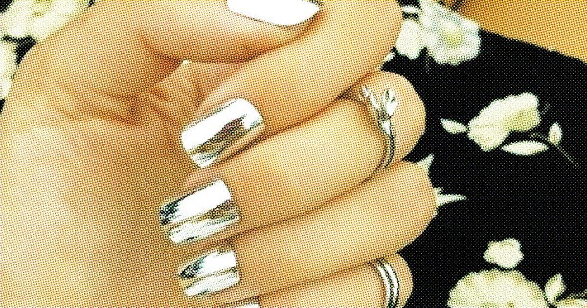 38 Metallic Nail Art Ideas That Will Rock Your World . - 38 Metallic Nail Art Ideas That Will Rock Your World - YouTube