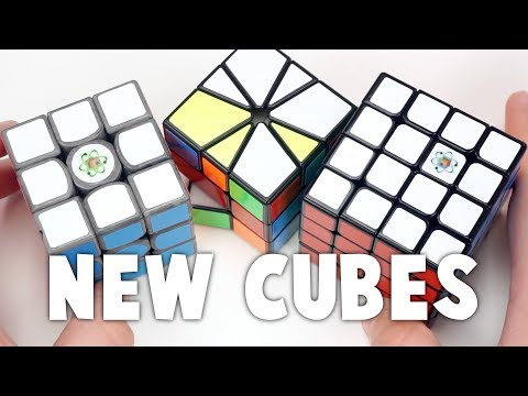 Boron Treated Gans Air UM, Cubicle WuQue M, And X Man Volt Square-1 Unboxing! | TheCubicle.us