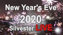 Silvester Feuerwerk  2020 in Wien [8 hours HD stream]