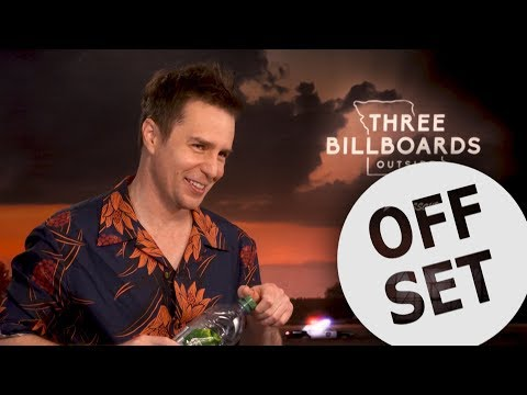 Sam Rockwell reveals an unlikely favourite past role! | Three Billboards interview
