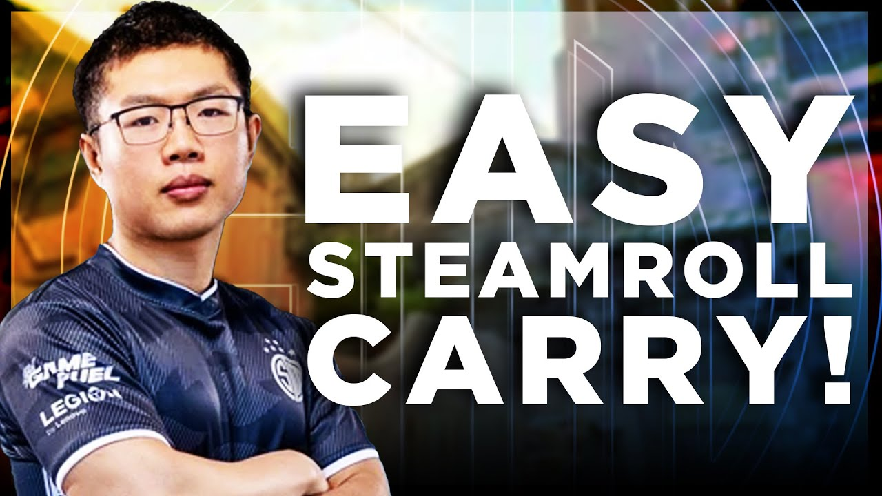 EASY STEAMROLL CARRY IN RANKED | TSM WARDELL