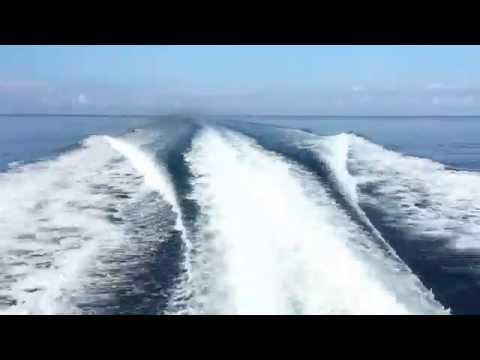 Ferry ride to Tioman Island, Malaysia (Time-Lapse)