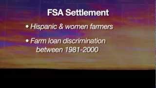Hispanic & Women Settlement 11/10/12