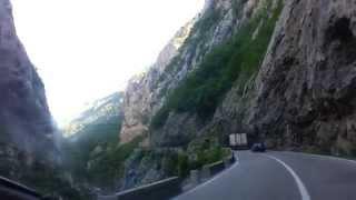 Дорога Сербія - Чорногорія