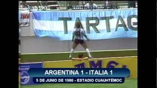 Argentina Campeón Mundial México ´86 en los relatos de Víctor Hugo - Parte 1/2