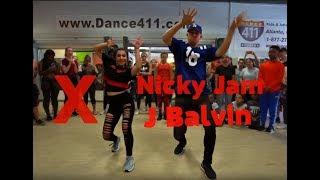 Matt Steffanina & Tati McQuay 😻🔥| X - Nicky Jam & J Balvin Dance | Atlanta Video