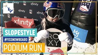 Katie Ormerod | Women's Slopestyle | Mammoth Mt. | 3rd place | FIS Snowboard