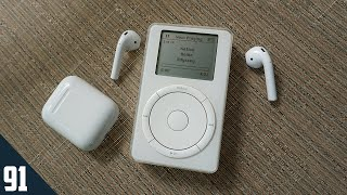 Using AirPods with the first iPod