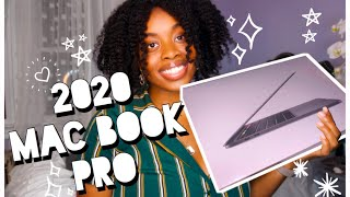 Unboxing my NEW 2020 MAC BOOK PRO! 13 Inch SPACE GRAY!