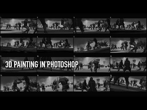 3D Painting in Photoshop