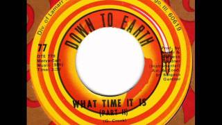 GENERAL CROOK  What time it is (instr.)  70s Soul