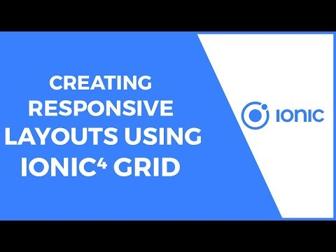 Creating Responsive Layouts with Ionic 4 Grid
