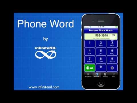 Phone Word 3.0