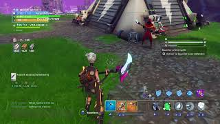 LIVE FORTNITE SAUVER THE WORLD EXCHANGE CONCOUR 100 ABOS
