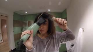 Piega riccia per capelli corti