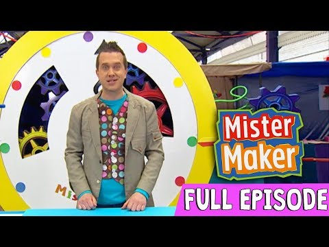 Giant Powder Paint Picture   Episode 2   Full Episode   Mister Maker Comes To Town